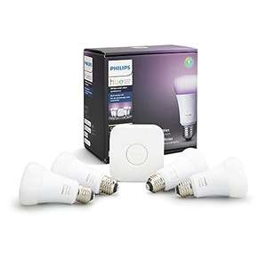 Amazon: Philips Hue White and Color Ambience, paquete de 5
