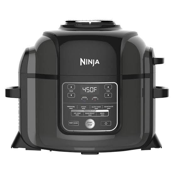 Costco: Ninja Foodi, Olla de presión + Freidora de Aire + Doradora 6.5QT (6.15 lts)