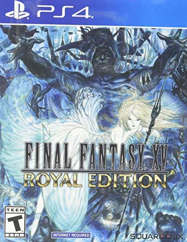 Amazon: Final fantasy XV Royal Edition PS4 (Para los que no alcanzamos a comprar PS5)