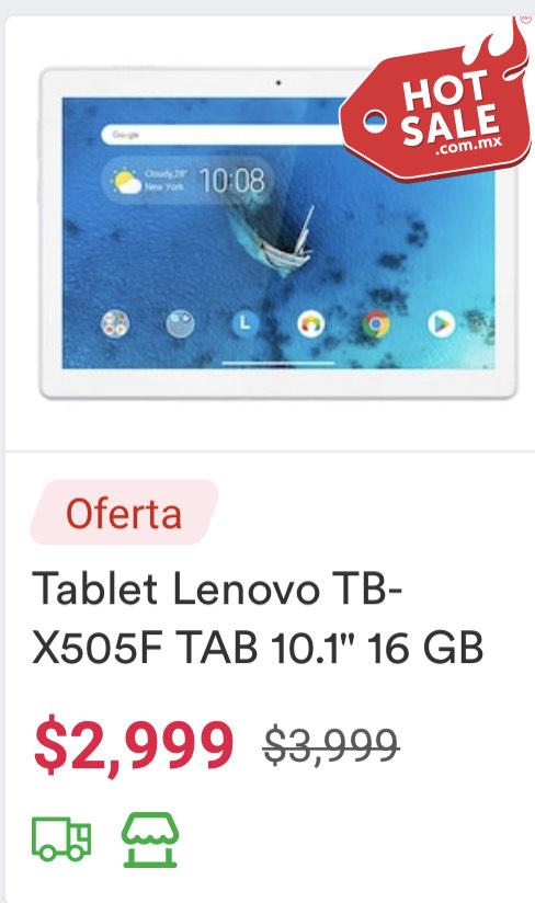 Coppel: Tablet m10 Lenovo