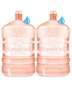 Bonafont: 2 garrafones de 20 lts más líquido por $100