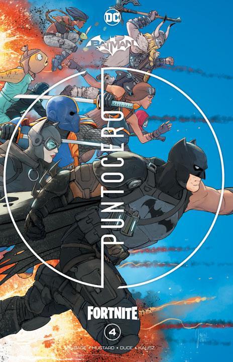Smashcomics: Batman/Fortnite #4