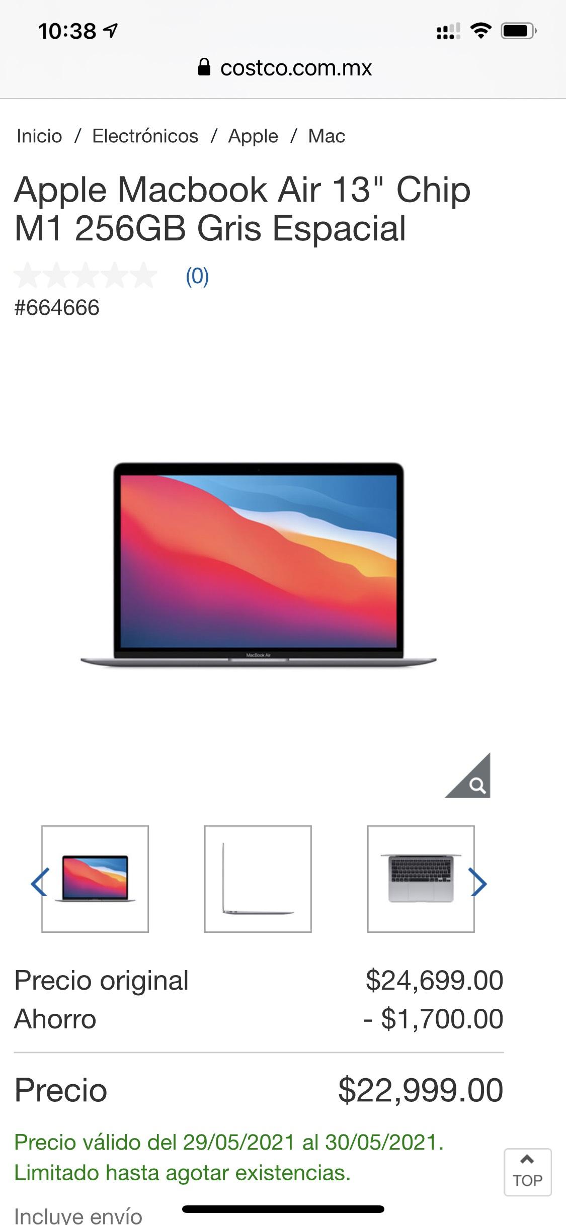 Costco MacBook Air