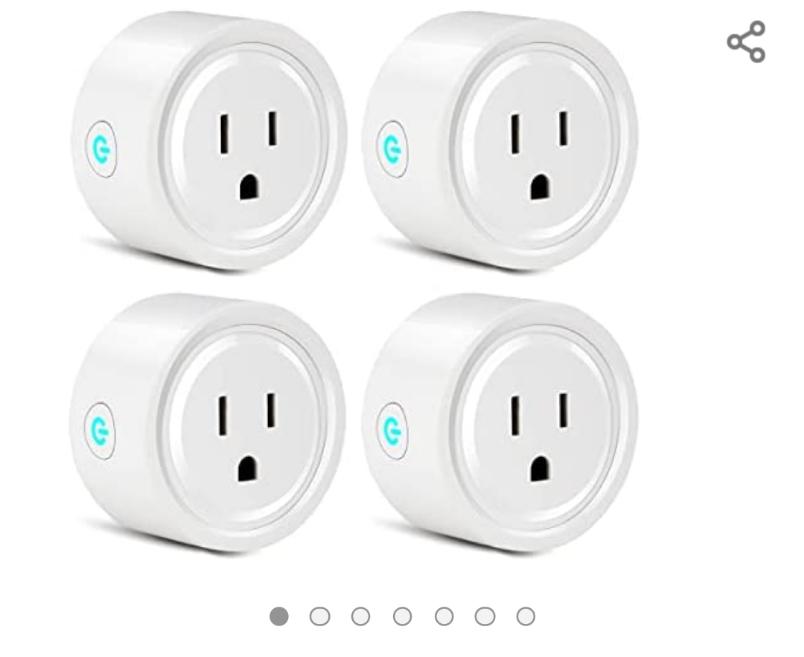 Amazon: Wifi Smart Plug, YOMYM Enchufe