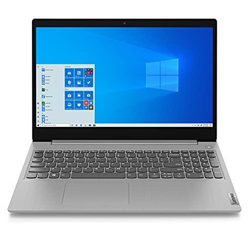 Amazon: Lenovo Laptop Ideapad 3i 15IIL05, Intel Core i3, RAM 8GB, HDD 1TB + 128 GB SSD, Windows 10, Plata CON PRIME Y CUPÓN