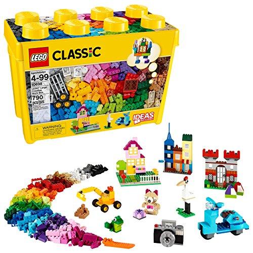 Amazon: LEGO Caja de Bricks Creativos, Grande 790 piezas