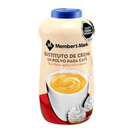 Sam's Club - Sustituto de Crema Member's Mark en Polvo para Café 1 kg Comprando 2