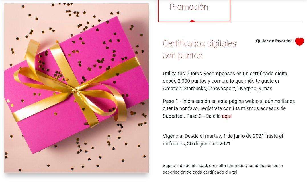 Cambia tus puntos por Certificados digitales en Santander Amazon, Liverpool, Uber, etc. durante junio