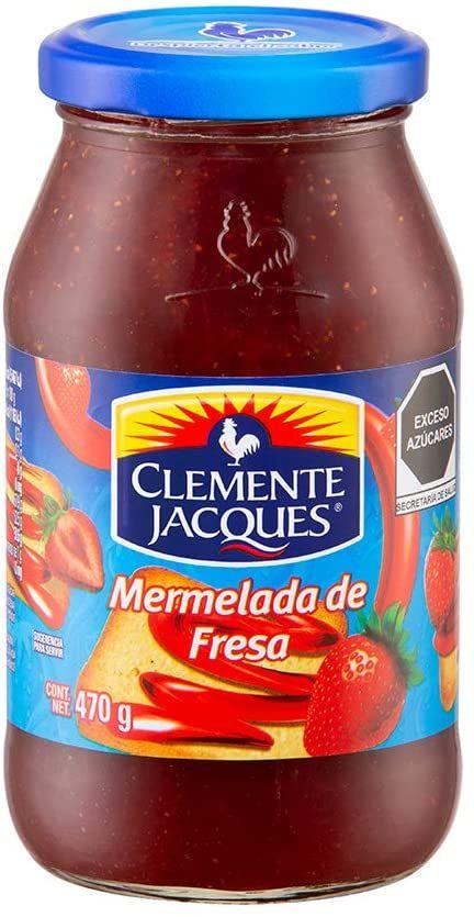Amazon: Clemente Jacques, Mermelada Clemente Jacques Fresa, 470 gramos