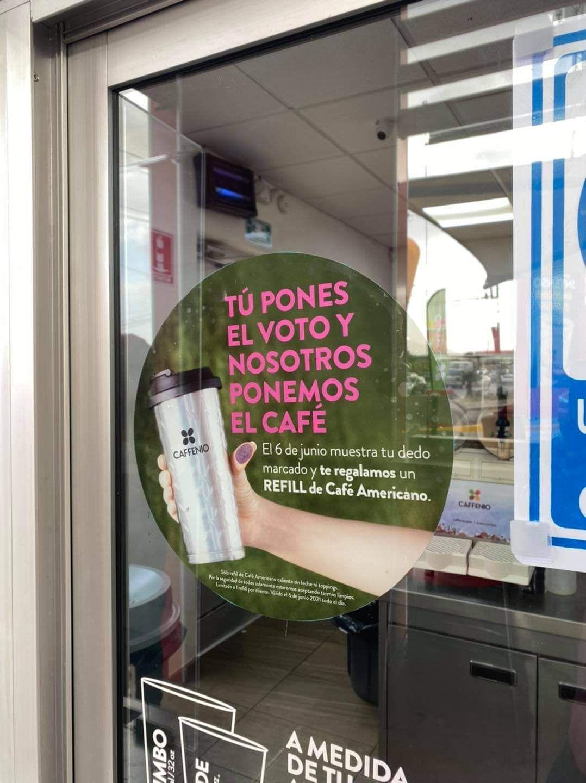 Caffenio: Café americano gratis por votar