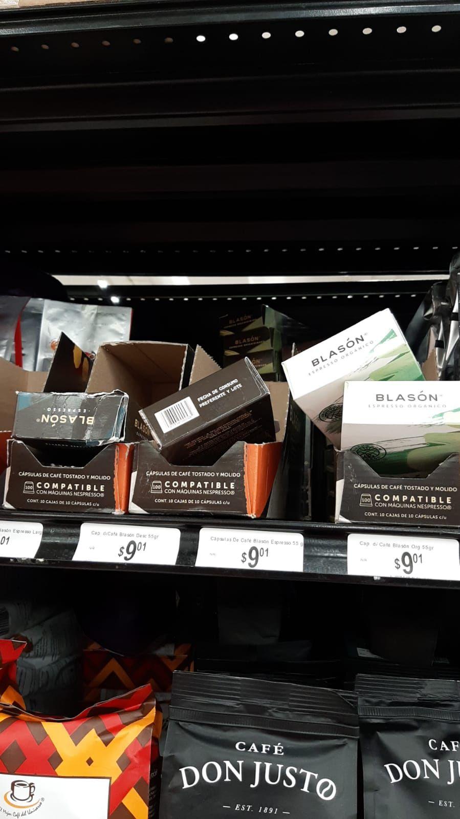 Chedraui: Café blasón para nesspreso