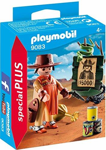 Amazon: Playmobil Vaquero con Cartel de Se Busca