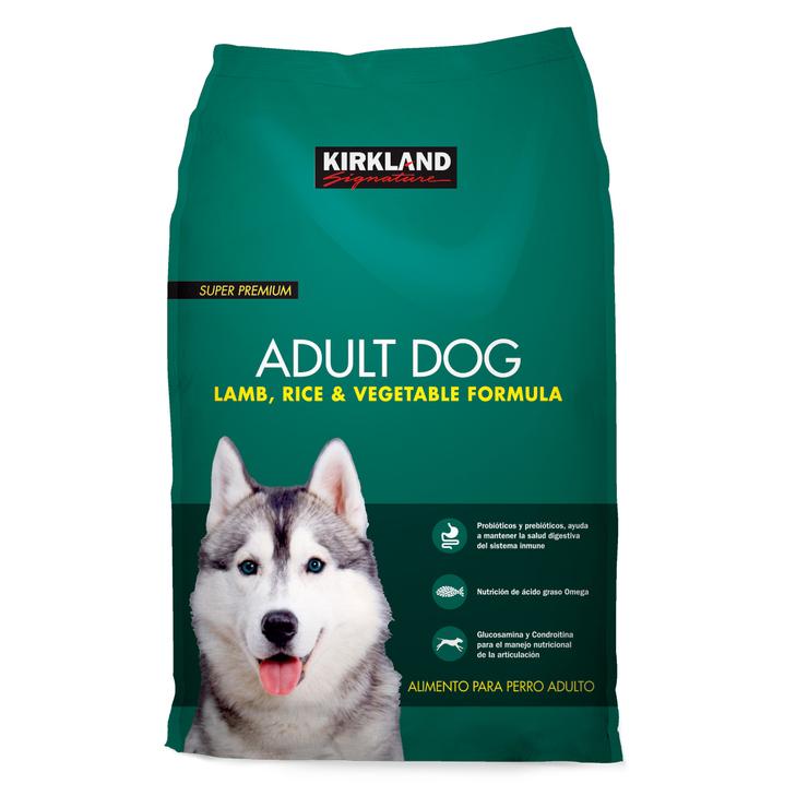 Costco: Alimento Premium para Perro Adulto, Cordero y Arroz Kirkland Signature, 18.1kg