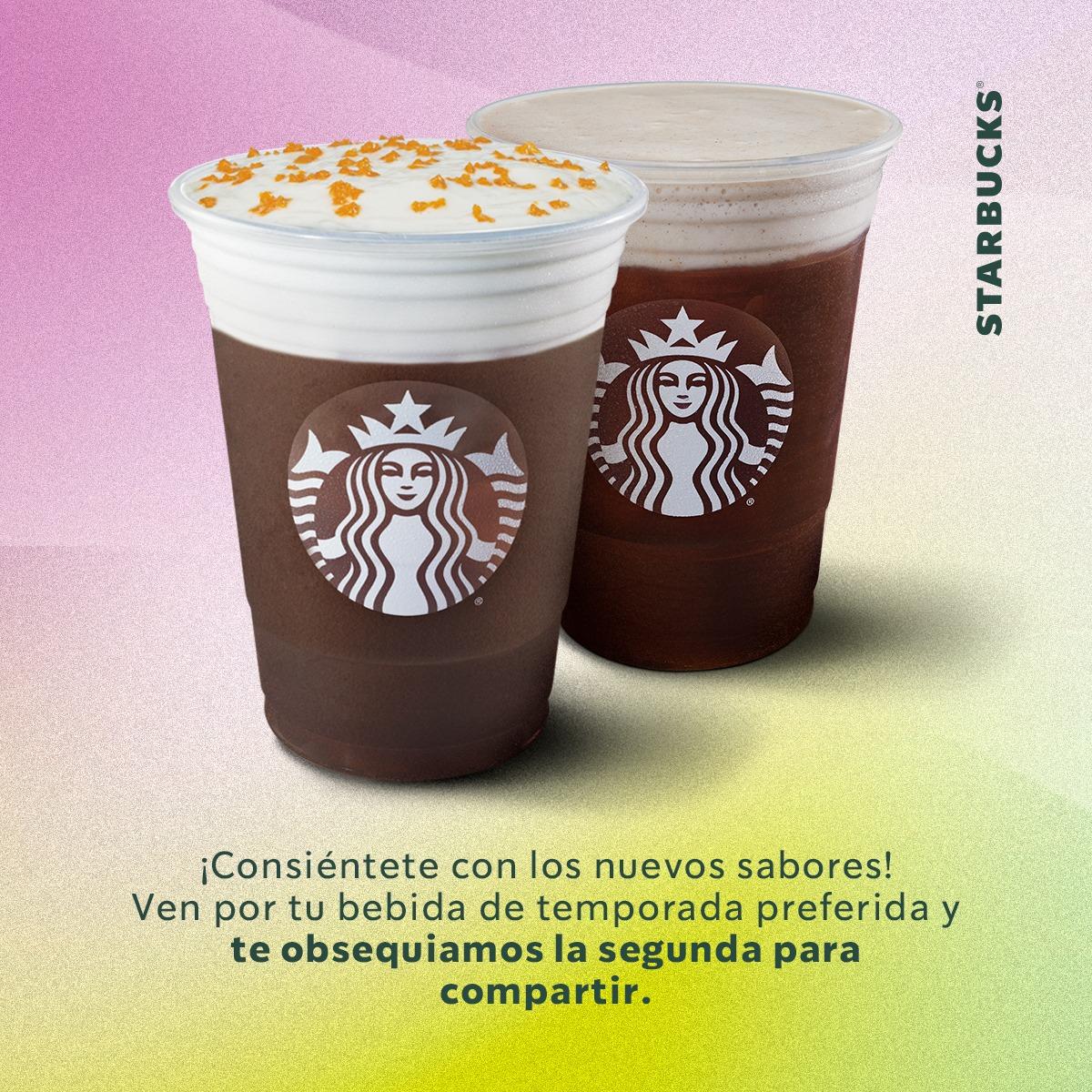 Starbucks: 2X1 H&C NARANJA Y AVELLANA MOCHA CREAM