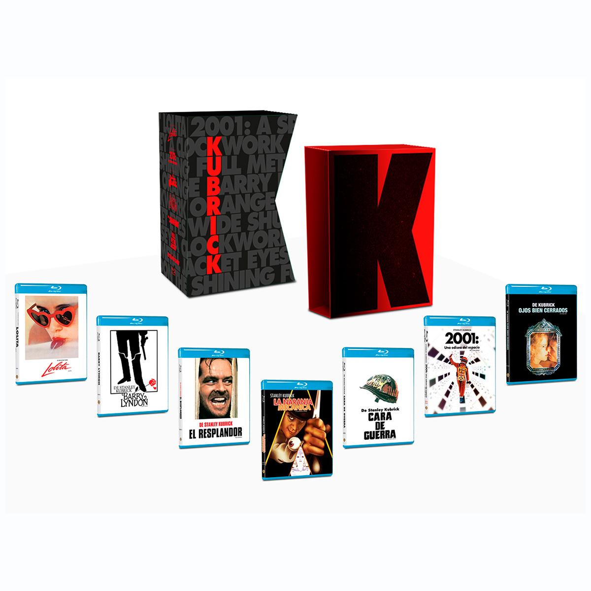 Costco: BR- Paquete Stanley Kubrick, Incluye 7 Títulos