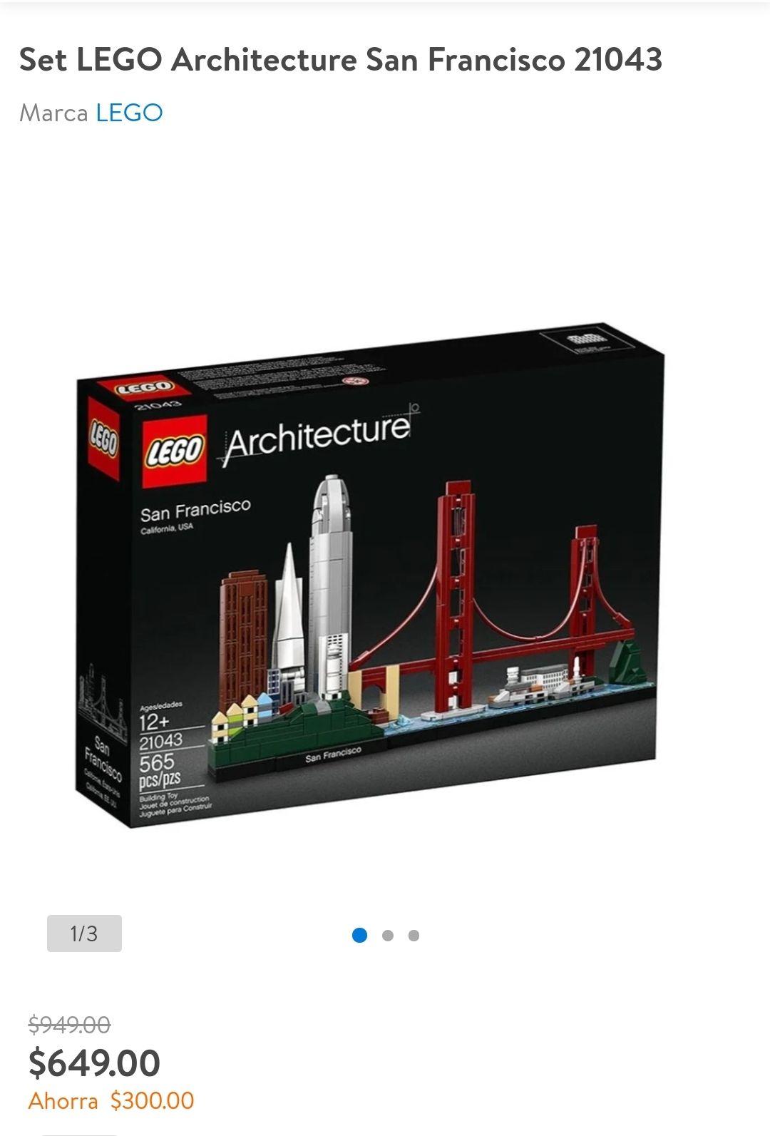 Walmart: LEGO Architecture San Francisco