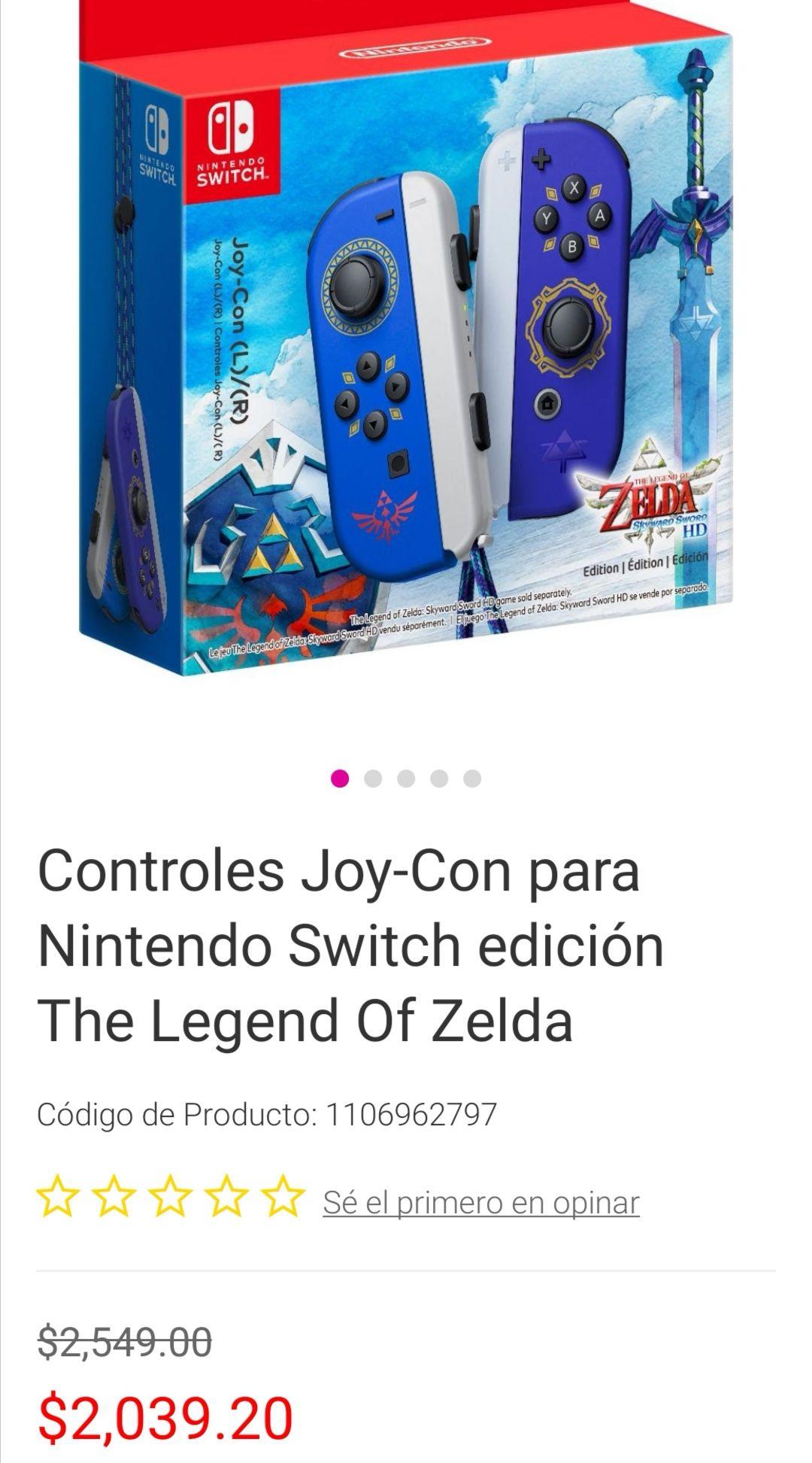 Liverpool, Preventa Joycon Zelda