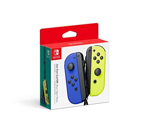Amazon, Joy-Cons Color Azul (L) y Color Amarillo neon (R)