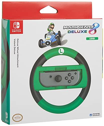 Amazon: Volante Mario kart 8 deluxe para nintendo switch luigi