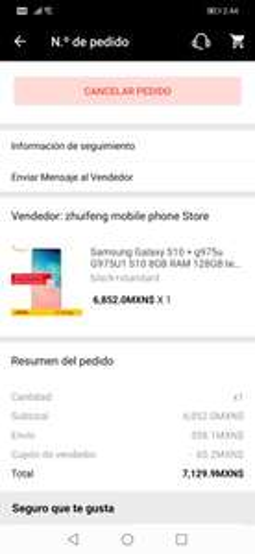 AliExpress: Samsung S10 +