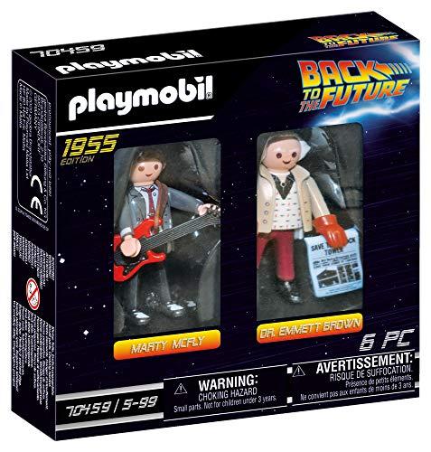 Amazon: Playmobil 2 Figure Set Marty & Doc Brown