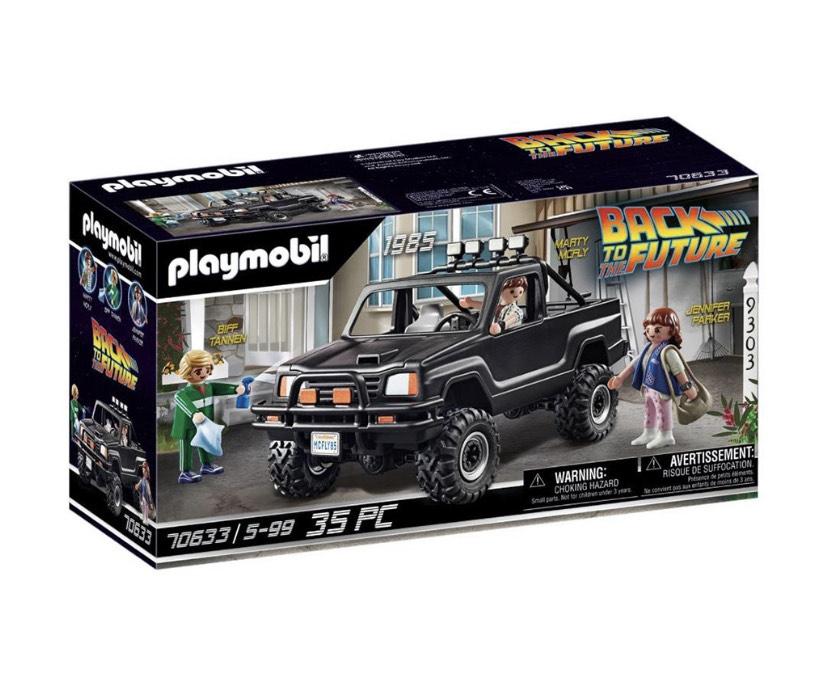Liverpool: Playmobil Camioneta Pick-Up de Marty de Back To The Future