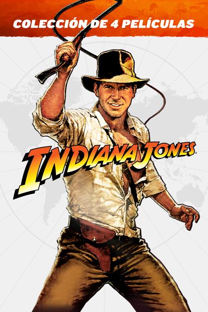 ITUNES coleccion Indiana Jones 4K + Dolby Atmos