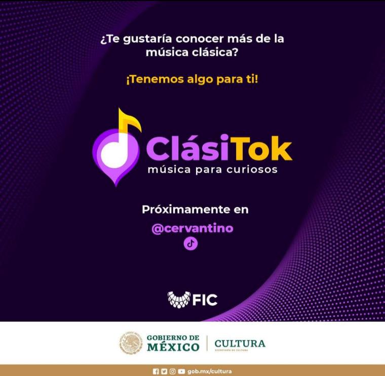 Cervantino: ClásiTok información esencial sobre la música clásica, datos curiosos y piezas musicales.