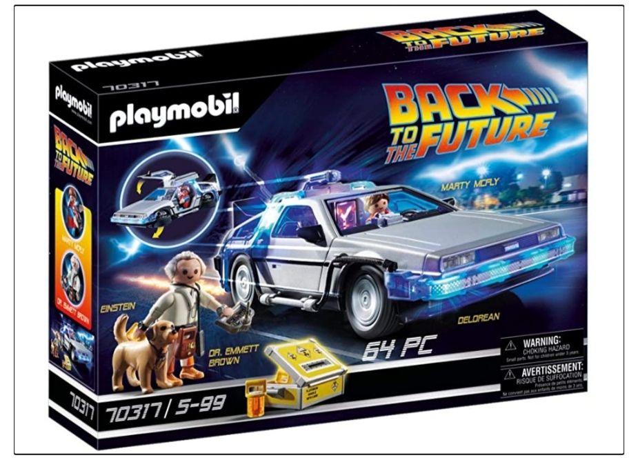 Amazon: Playmobil - Back to the future