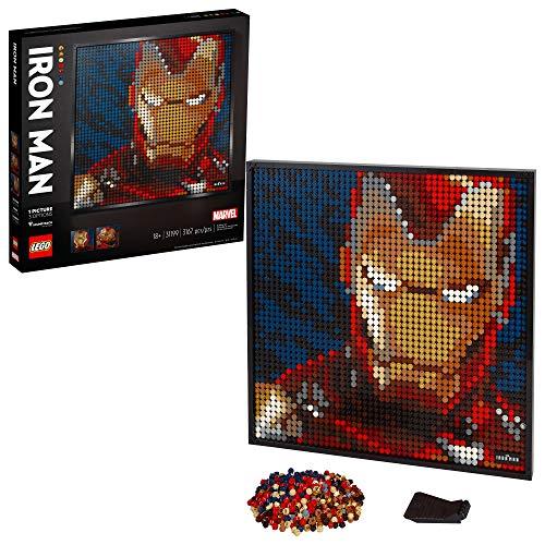 Amazon: LEGO Kit de construcción Art 31199 Marvel Studios Iron Man (3167 Piezas)