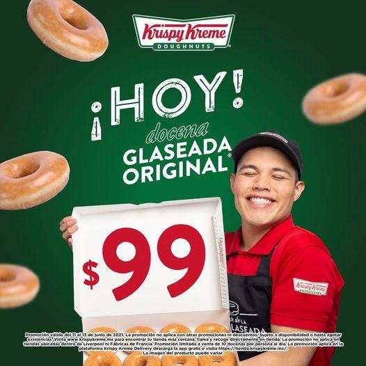 Krispy Kreme: Docena Glaseada Original