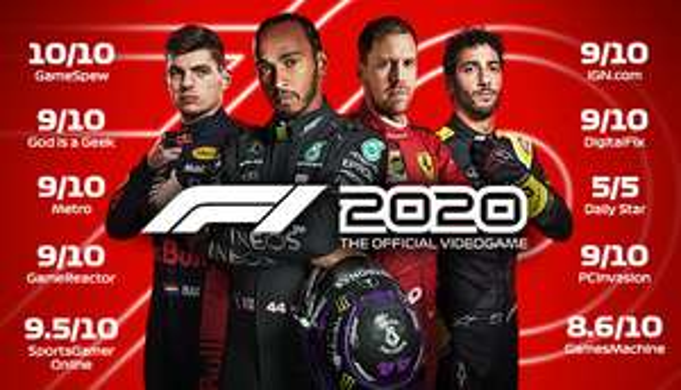 Steam F1 2020