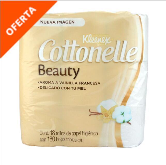 La Comer Kleenex Cottonelle 54 Rollos por 238 pesos con el 3x2 79 pesos cada paquete de 18 rollos