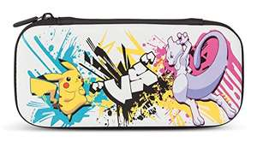 Amazon, Kit con Funda PowerA para Nintendo Switch Lite – Batalla de Pokémon - Standard Edition
