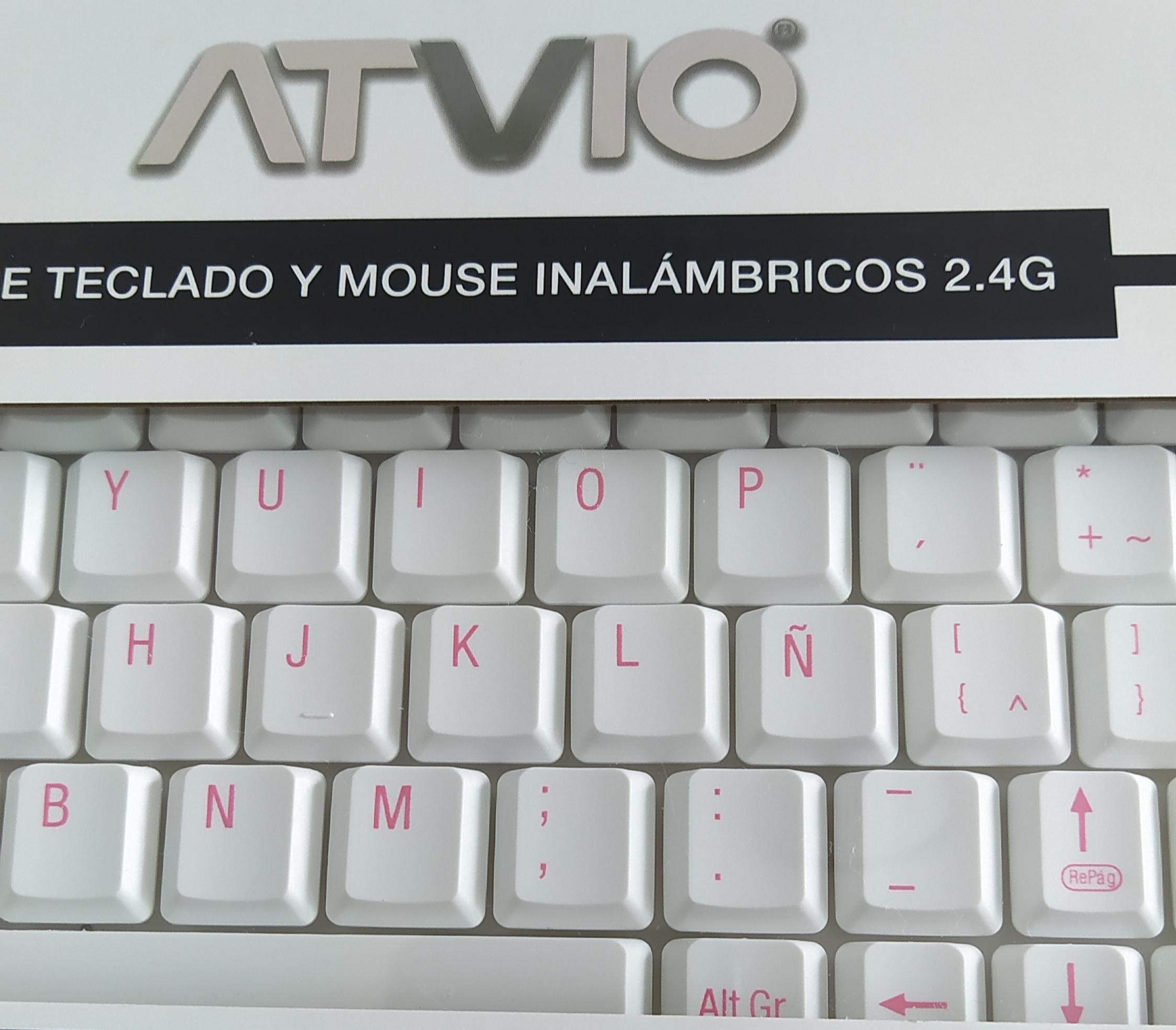 Walmart: Teclado y ratón kawaii marca Atvio