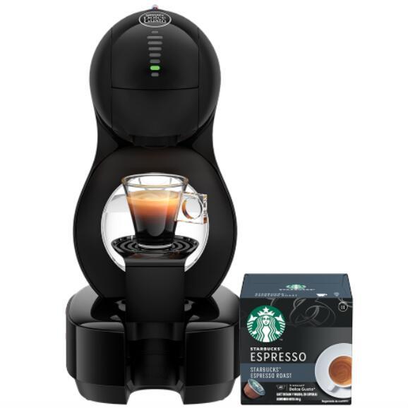 Nescafé Dolce Gusto: Máquina Lumio + 84 Cápsulas Starbucks