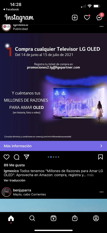 LG oled premios al comprar un Tv oled en Amazon