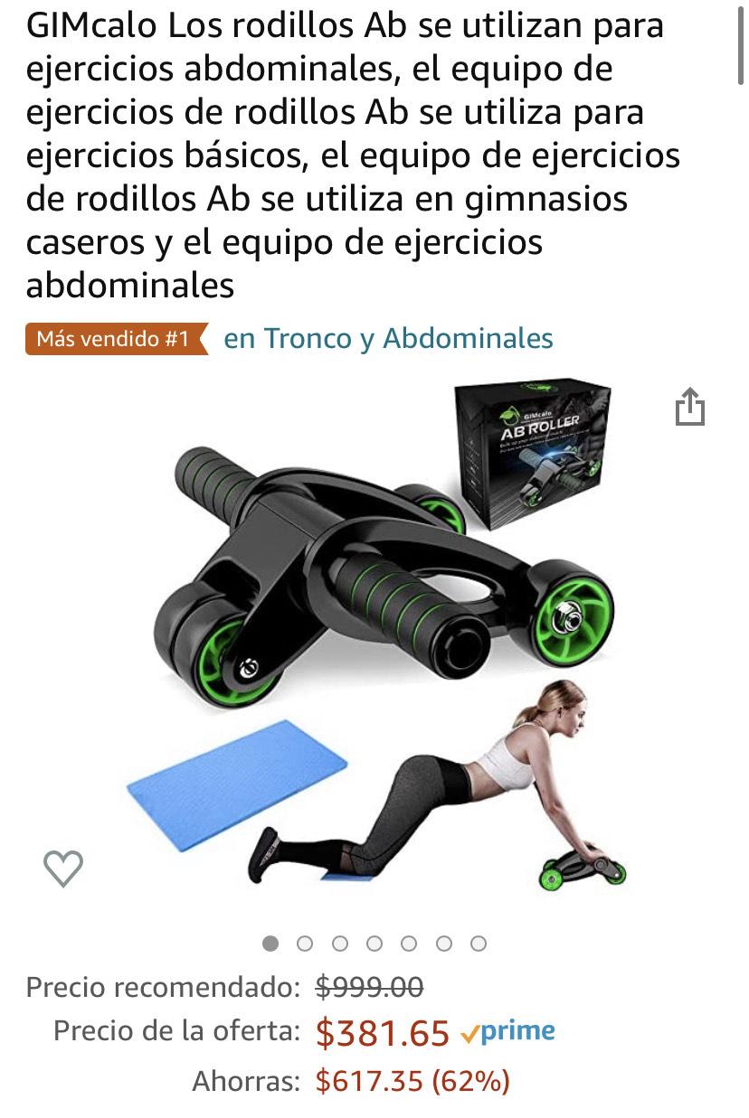 Amazon: Rodillos Ab, Más vendido #1