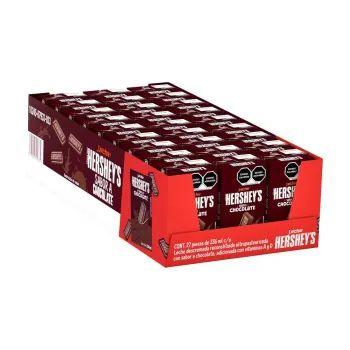 Sam's Club: leche Hershey's Chocolate 27 pzas de 236 ml + 2 panques herseys