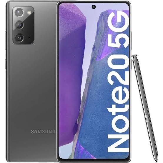 Movistar: Samsung Note 20 256 GB Gris (HSBC)