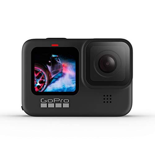 Amazon: GoPro HERO9 Black - Cámara de acción impermeable