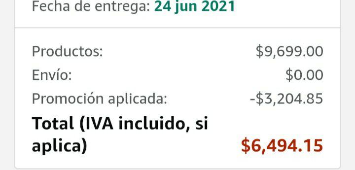 Amazon: Go pro 9 Hero Black desde $6,081