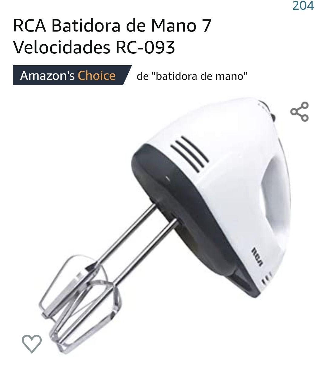 Amazon RCA Batidora de mano