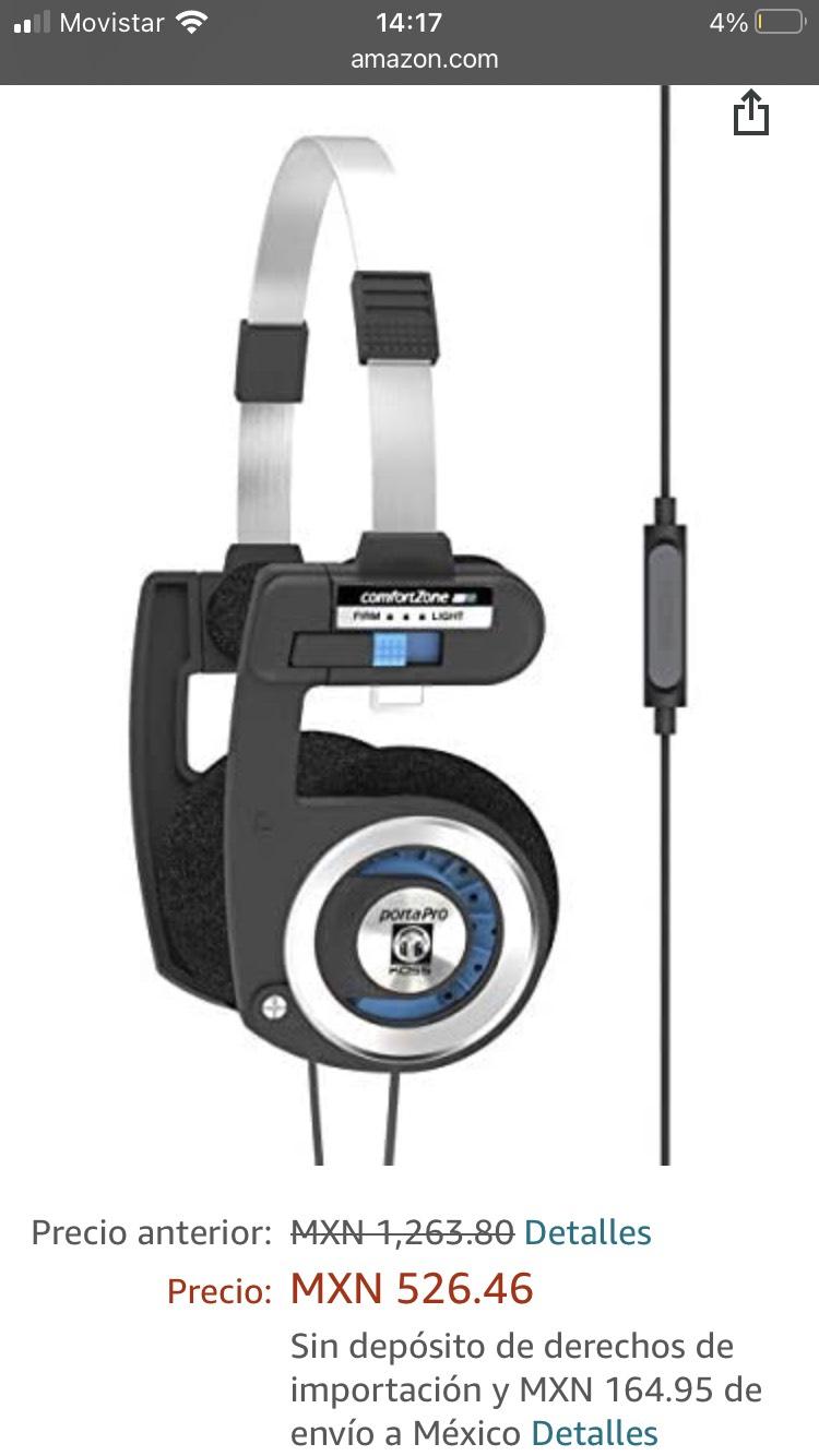 Amazon EU: Koss Porta Pro con micrófono