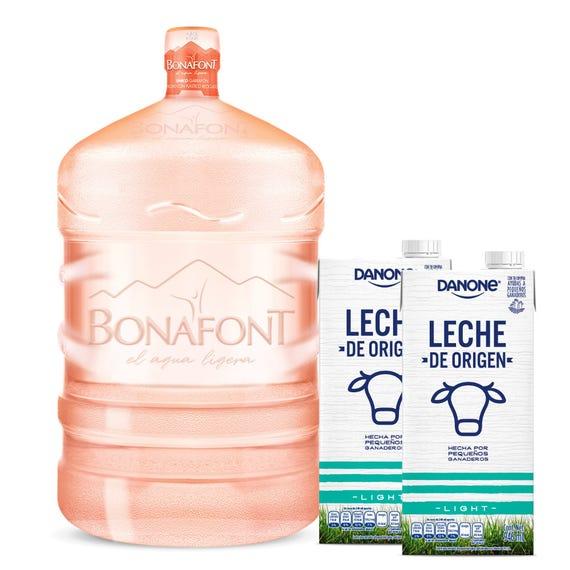 Bonafont: Liquido Garrafón Bonafont 20L + 2lt Leche Light