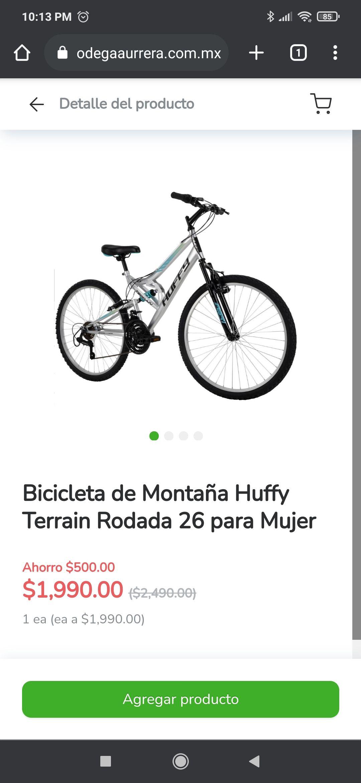 Bodega Aurrera: Bicicleta de Montaña Huffy Terrain Rodada 26 para Mujer