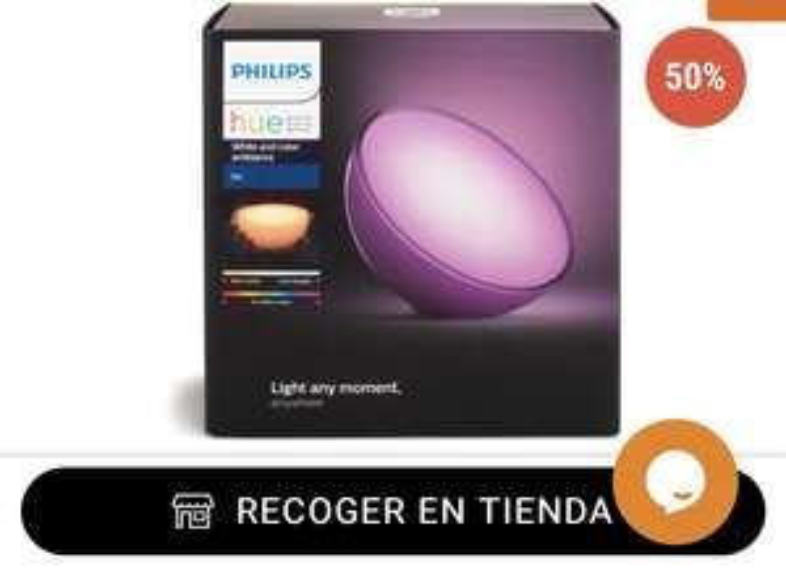 RadioShack: Lámpara Philips Hue Go