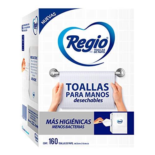 Amazon: Regio Toallas Para Manos 1 Paquete 160 Hojas