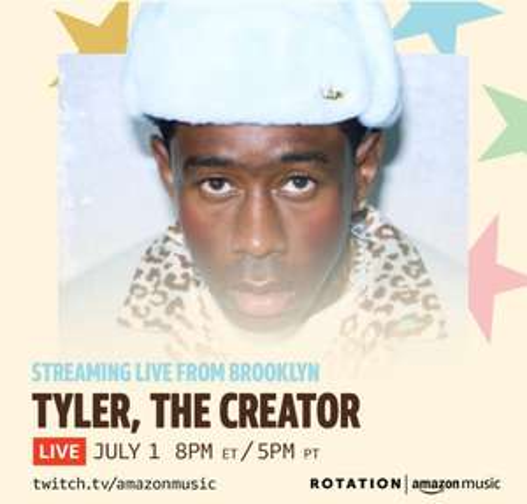 Stream en vivo de Tyler, the creator