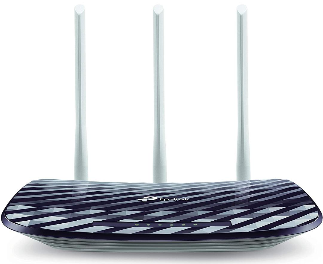 Amazon: TP-Link Archer C20 Router 300Mbps en 2.4GHz y 433Mbps en 5GHz